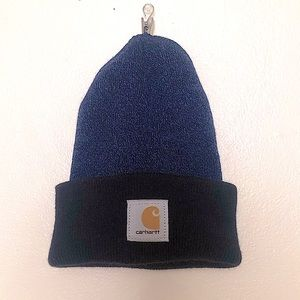 Carhartt Two Toned Unisex Beanie in Blue